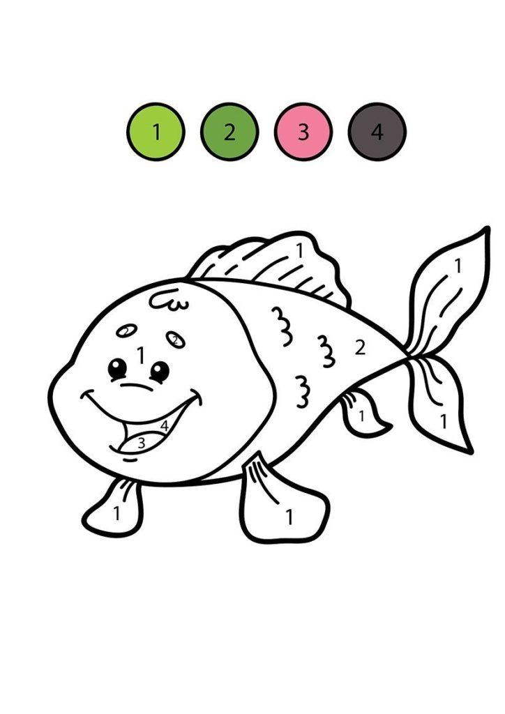 pez para colorear