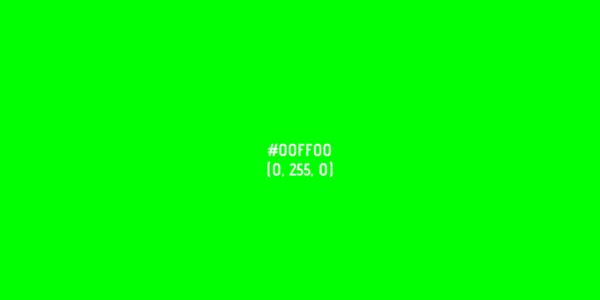 La psicología del color verde