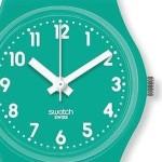 reloj verde agua marina