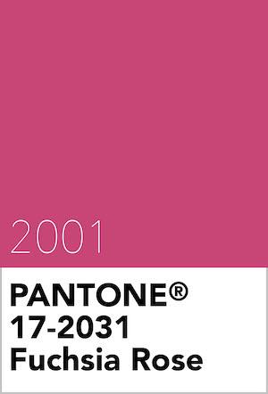 Pantone color fucsia